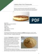 cocinaros.blogspot.com-Cómo hacer la verdadera New York Cheesecake