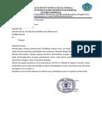 Surat Edaran Pilkades STIKES Kendal