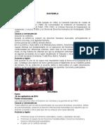 Proceso de paz guatemala, colombia, nicaragua