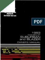 1993 Chevrolet Suburban Owners