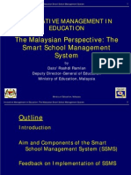 Innovative Management in Education the Malaysian Smart School Management System