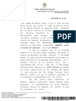 Cámara Federal de Casación Penal Sala de feria RAMÍREZ Sofía 27_03_2020