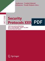 Net.ST--Security Protocols XXIV 24th International Workshop_ Brno_