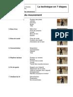La technique en 7 étapes. Déroulement du mouvement. ASTA Association Suisse de Tir à l Arc. Conseil des entraîneurs