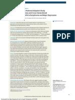 Swedish National Study of BP Schiz MDD