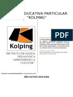 PROYECTO DE SALIDA PEDAGÓGICA