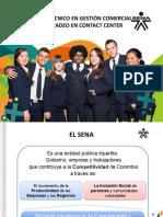Presentación TECNICO EN GESTION COMERCIAL Y TELEMERCADEO PARA INDUCCION