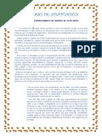 FUNDAMENTACIÓN PSICOPEDAGÓGICA DEL PERIODO DE ADAPTACIÓN