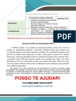 PR Gestão Ambiental 2 e 3 Semestre RPPN