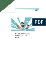 KIT DE PROYECTO PROYECTO DE VIDA