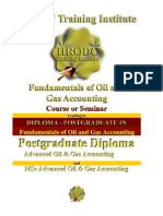 Fundamentals of Oil & Gas Accounting Course