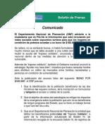Prensa DNP DNP advierte sobre información FALSA para seleccionar hogares beneficiarios del Ingreso Solidario.pdf