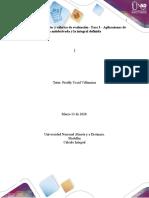 Desarrollo Guía Fase 3 Aplicaciones de la antiderivada y la integral definida