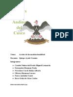 Monografía grupo 6 (Disposiciones Generales de los procesos Constitucionales)