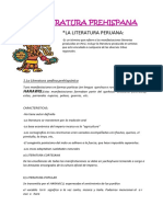 Literatura Andina Prehispanica
