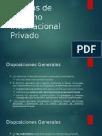 (9) Normas de Derecho Internacional Privado IMPORTANTE