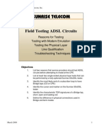 FieldTestingADSLCircuits