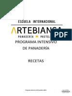 DOSSIER SABADOS INTENSIVOS PANADERÍA (1)