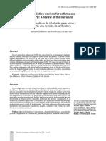 Neumonitis de hipersensibilidad asociada con exposición a ácido oxálico