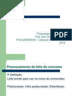 Processamento de Leite de Consumo