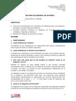 LABORATORIO DE DINÁMICA DE SISTEMAS PRÁCTICA 1