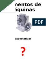 1. Presentación Elementos de Máquinas