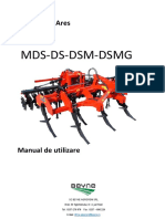 Scarificator DANTE DS-DSM-RO - manual
