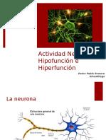 Clase 6 Hipo e hiperfunción neuronal