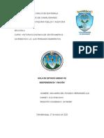 HOJA DE ESTUDIO UNIDAD VIII DE HISTORIA