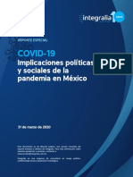 Reporte Integralia Coronavirus (Resumen Ejecutivo, 31.03.2020)