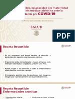 IMSS Receta Resurtible, 31mar20