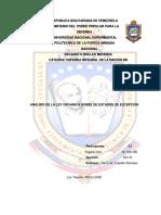 ENSAYO DEFENSA INTEGRAL DE LA NACION VIII - ESTADOS DE EXCEPCIÓN