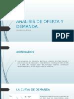ANALISIS DE OFERTA Y DEMANDA