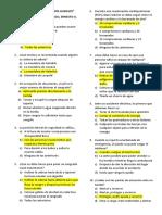 Pre Test Primeros Auxilios - Contreras Chambergo Ernesto