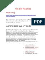 Aplicaciones del Machine Learning