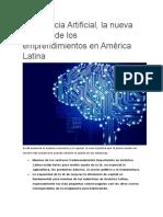 Inteligencia Artificial_Ventajas