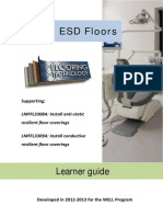 ESD Floor Learner Guide