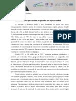 Recomendações para estudar e aprender nos espaços online.docx