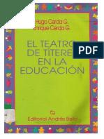TEATTRO TITERES EN LA EDUCACION