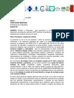 Peticion y Propuesta de Decreto Covid 19- Talento Humano en Salud Colombia