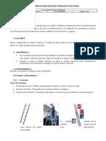 PC002 Procedimiento para realizar trabajos en alturas