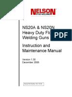 Nelson-NS20-HD-Gun-Operating-Manual
