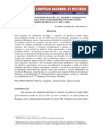 No rastro do prof. Joseph Jubert. Sandra de Souza (anarquismo)