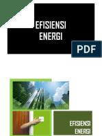 Aspek Penilaian Efisiensi Energi (Proper)