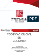 Codificacion civil en Colombia