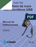 AUD-760-instr USB Steren