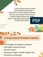 MODEL PENGURUSAN DISIPLIN THOMAS GORDON