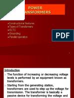Good Presentation on Power Transformers