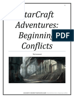 StarCraft Roleplaying Game Adventures Beginning Conflicts