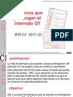 Farmacos que prolongan el Intervalo QT